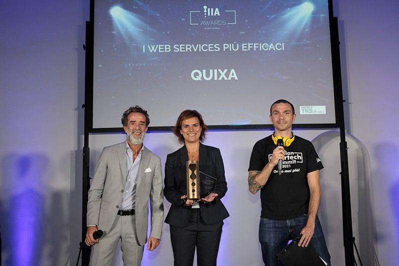 Quixa - IIA Awards 2021